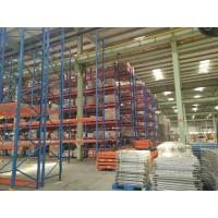 Quality Vertical Radio Shuttle  Heavy Duty Pallet Racking System  Industrial  CE  SGS TUV for sale