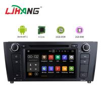 Quality Car Multimedia BMW GPS DVD Player With Stereo Radio Support GPS Android 7.1 for sale
