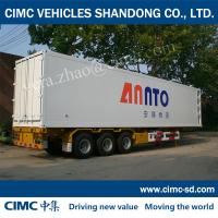 China popular environmentally-friendly refrigerated and insulated semi-trailer van bodies on sale