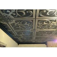 China Three Dimensional Effect Stainless Steel Ceiling Panels Increase Space Layering on sale