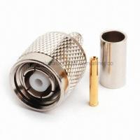 Buy cheap TNC Coaxial Connector with Precision Frequency Application Up to 11GHz from wholesalers