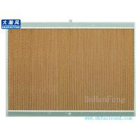 Quality air conditioner/Evaporate cooling pad/evaporate air cooler cooling pad with aluminum frame for sale