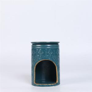 Quality Ceramic Wax Melts Scented Oil Burner , Tea Light Essential Oil Burner for sale