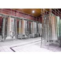 Quality Stainless Steel Commercial Microbrewery Equipment For Fruit Wine Making for sale
