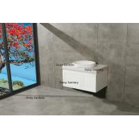 Quality Water Saving Modern White Bathroom Vanity for sale