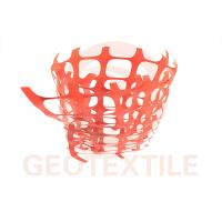 Quality 350 Lbs / Ft Plastic Security Fencing , 70 * 40mm Orange Plastic Temporary Fencing for sale