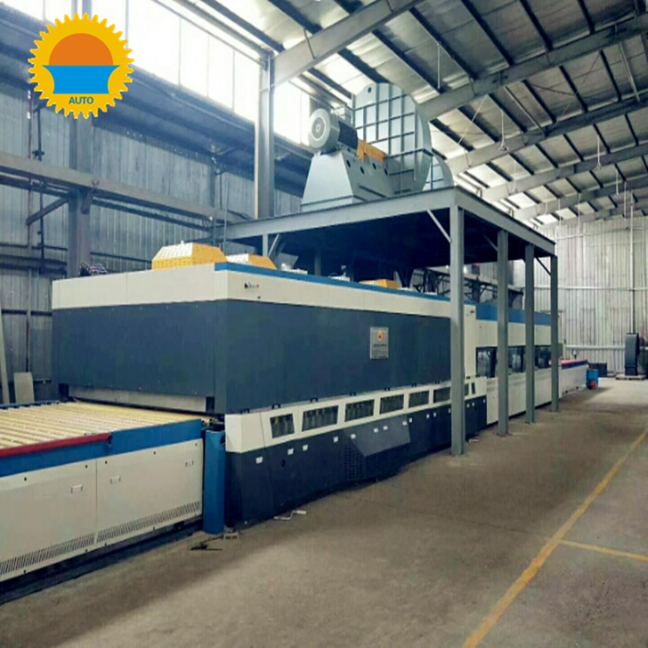 Quality 19 Loads / H Tempered Glass Manufacturing Machine High Efficiency For Solar Energy for sale