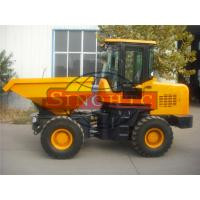 Quality Construction / Articulated Front Loading Dumper 3 Tons Loading 2 Axles 4x4 Driving for sale