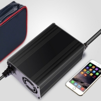 Quality 24V 12A Portable 18650 Lithium Ion Charger for sale