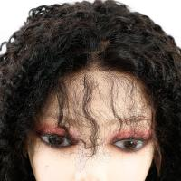 China Kinky Curly Front Lace Wigs , Lace Front Full Wigs Human Hair 8A Grade for sale