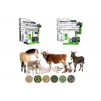 Quality Livestock Animal Feed Production Machine Adjustable Speed With CE Approve for sale