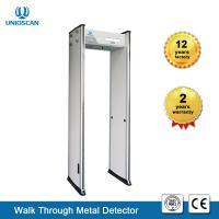 Quality LED Screen Security Metal Detector Body Scanner 6 Zones High Sensitivity UB500 for sale