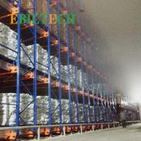 Quality Cold Storage Electric Radio Shuttle Racking System With Max 5T Capacity for sale