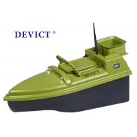Quality Green  RC Fishing Bait Boat DEVC-104 7.4V / 6A lithium battery AC110-240V for sale