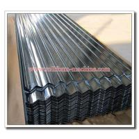 Quality Full Hard 550MPa G550 Corrugated Sinusoidal Profile Thin Steel Roofing Sheet Material, 0.15mm, 0.18mm, 0.20mm for sale