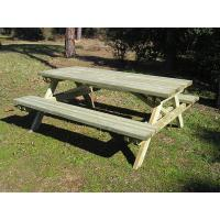 Quality sell outdoor table and chair from antirot treatment pine for sale