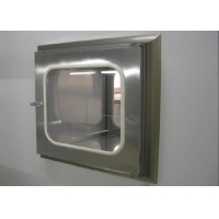 Quality Stainless Steel Clean Room Static Pass Box For Goods Transfer for sale