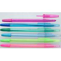 Quality Environmental protection plastic ballpoint pen for school for sale