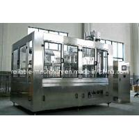 Quality Carbonated Soft Drink Filling Machine /Line Reliable Machinery (CGFD) for sale