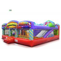 China Fun Fair Park Play Inflatable Bounce House Combo 1 - 3 Years Warranty 120 KG Weight on sale