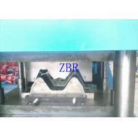 380V Guard Rails Roll Forming Machine 5.5Kw Motor With Cycloidal Reducer