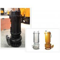 Quality Industrial Electrical Submersible Slurry Pump With Anti Abrasive Material 50hz / 60hz for sale