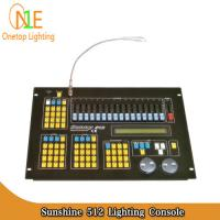 China Sunshine 512 Lighting Console Sunny 512 dmx Controller led light controller sunshine on sale