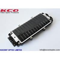 China 2 In 2 Out Inline Fiber Optic Splice Enclosure Box ABS PC Material IP67 Mechanical Seal on sale