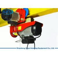 China PA Electric Cable Hoist 110V , Electric Crane Hoist Wireless Remote Control on sale