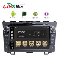 Quality Android 8.1 Honda Car DVD Player With DVR DAB TPMS Rear Camera for sale