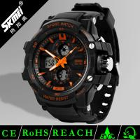 Quality Different Colors Vogue Men Analog Digital Sport Watch Which With Japan Movement for sale