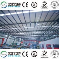 Buy cheap suzhou OPT 24ft industrial HVLS fans energy saving fan from wholesalers