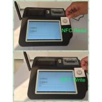 Quality Swipe Card Wireless POS Terminal , 7inch Color TFT LCD Touch Screen POS System for sale