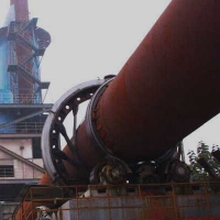 Quality High Temperature Dry Process 6000T/D Cement Rotary Kiln for sale