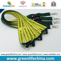 Quality Earthfriendly Safety Jacquard Woven Logo Lanyards w/Breakaway ID Badge System Need for sale