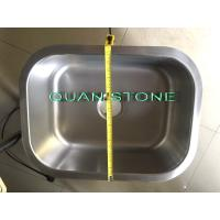 Quality Silver Stainless Steel Wash Basin , Simple Sink Fit Toilet And Kitchen for sale