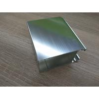 Quality Silver White Polished Aluminium Profile Door And Window Accessories for sale