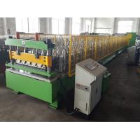 Quality Deep Corrugated Profile Metal Roofing Sheets Roll Forming Machine for sale