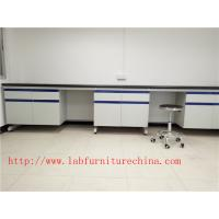 Quality 3000 mm  White  Cheapest Solid   Phenolic  Science Lab furniture Solution for Hospital /  College Laboratory for sale