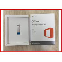Quality Original Microsoft Office Professional 2016 Retail Box Usb Activation Online for sale