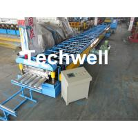 Quality Galvanized Steel Floor Deck Roll Forming Machine for Making Steel Structure Floor Decking Panel for sale