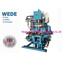 Pressure Rotor Vertical Die Casting Machine For Rotor 4 Rotary Stations Cycle Time 8 Seconds