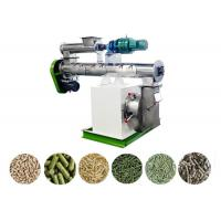 Quality Poultry Feed Pellet Making Machine Siemens Motor SKF Bearing Ring Die 1-2 T/H for sale