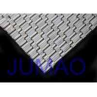 Quality Curved Mesh Architectural Metal Fabric Flexible Open Weaves For Interior Design for sale