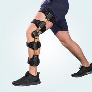 Buy cheap Telescopic Post Op Mechanical Knee Brace Gold Hinge , Functional Knee Brace from wholesalers