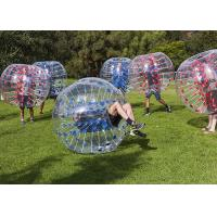 China Colored Inflatable Bubble Soccer Balls Size 1.0m Security - Guarantee on sale
