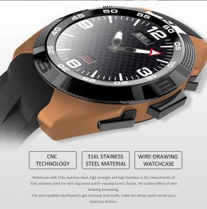 China Sports Style LED Smart Watch Net size 42.5*51*10.5mm TPU material on sale
