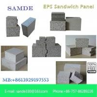 China Construction materials Precast concrete structures lightweight wall panel 2440*610*75mm on sale