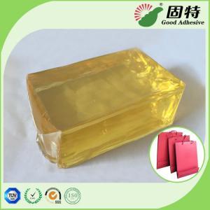 Buy cheap Industrial Hot Melt Adhesive , Hot Melt Glue Block For Handbag Bottom Sealing from wholesalers