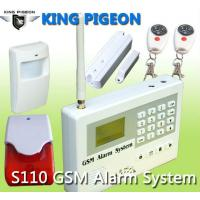 Quality wireless gsm home alarm system,S110,CE for sale